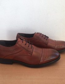 Harrykson 528 Brown Derby Perforated 3