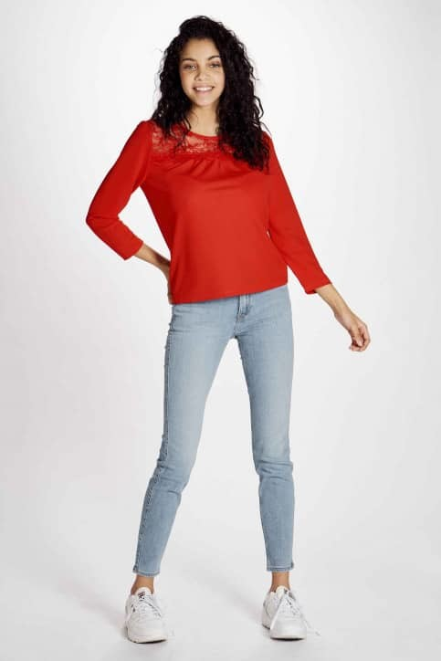 Red Blouse Only