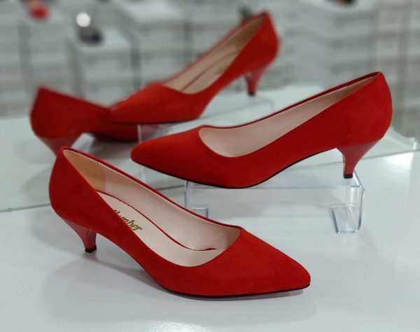 Small red heels